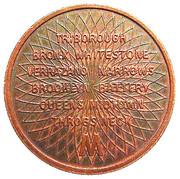 Token - Triborough Bridge & Tunnel Authority (Manhattan, NY) – reverse