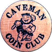 Wooden Nickel - Caveman Coin Club (10th Annual Coin-O-Rama, Oregon) – obverse