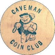 Wooden Nickel - Caveman Coin Club (9th Annual Coin-O-Rama, Oregon) – obverse