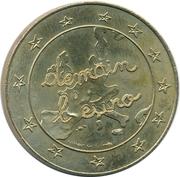 1 ½ Euro - Leclerc – obverse