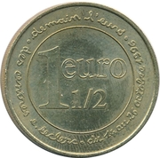 1 ½ Euro - Leclerc – reverse