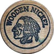 Wooden Nickel - Old Pueblo Coin Exchange (Tucson, Arizona) – reverse