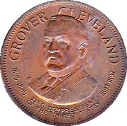 Token - Presidential Hall of Fame (Grover Cleveland) – obverse