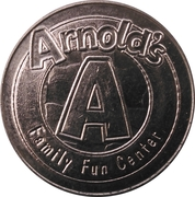 Game Token - Arnold's Family Fun Center – reverse