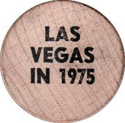 Wooden Nickel - Las Vegas – obverse