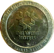 1 Dollar Gaming Token - Del Webb Hotels  (Las Vegas) – obverse