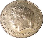 10 Centimes - Compagnie d'alais et de la camague (Monetary trial) – obverse