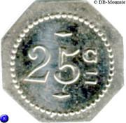25 Centimes - Patouillard (Saint-Etienne) – reverse