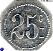 25 Centimes - F. Epitalon parfumerie - (St-Etienne) – reverse