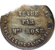Token - Tenue par Mme rose – reverse