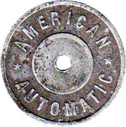 Token - American Automatic – obverse