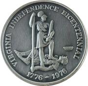 Virginia Independence Bicentennial – obverse