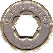 Jeton Prime - Appareil distributeur (Katz; with hexagonal hole) – obverse