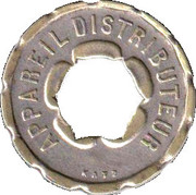 Jeton Prime - Appareil distributeur (Katz; with hexagonal hole) – reverse
