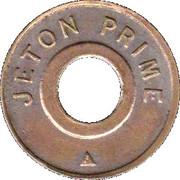 Jeton Prime - M D – obverse