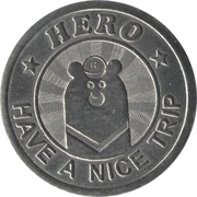 Token - Hey Bear Hostel – obverse