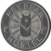 Token - Hey Bear Hostel – reverse