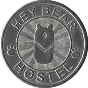 Token - Hey Bear Hostel – reverse