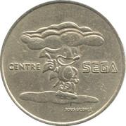 Token - Centre Sega – obverse