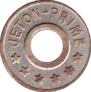 Jeton Prime (6 stars) – reverse