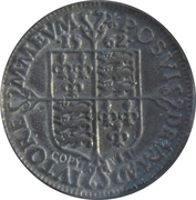 Replica - 6 Pence Elizabeth I 1562 (Milled issue) – reverse