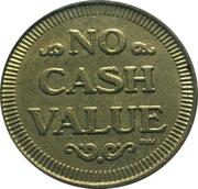 Token - Diamond Jim's (No Cash Value) – reverse