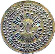 20 Centimes - L'Ideal – reverse