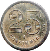 25 Centimes A consommer – obverse