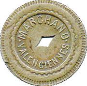10 Centimes - Marchand (Valenciennes) – obverse