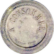 10 Centimes A Consommer – reverse