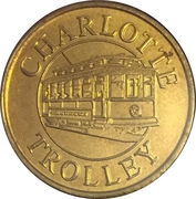 1 Fare - Charlotte Trolly (Charlotte, NC) – obverse