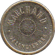 50 Centimes - Marchand (Valenciennes) – obverse