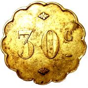 30 Centimes – obverse