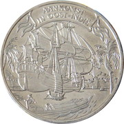 3 Daalders - VOC (Arrival in East Indies) – obverse