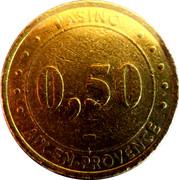 50 Cents - Casino Aix-En-Provence (Groupe Partouche) – obverse