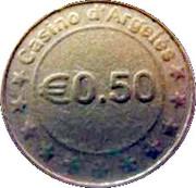 50 Cents - Casino d'Argelès – obverse