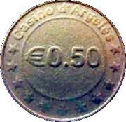 50 Cents - Casino d'Argelès – reverse