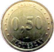 50 Cents - Casino de Plouescat (Groupe Partouche) – reverse