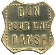 Token - Bon pour une danse - Bal de la defense (Puteaux) – reverse