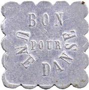 Token - Bon pour une danse - Bal du Moulin Brûlé (Maison-Alfort) – reverse
