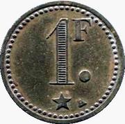 1 Franc - Bon à Consommer – reverse