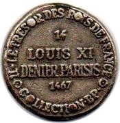 Token Collection BP - Le Trésor des Rois de France (№14 - Louis XI) – reverse