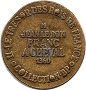 Token Collection BP - Le Trésor des Rois de France (№11 - Jean le Bon) – reverse