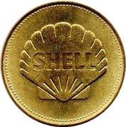 Shell Token - Man In Flight (Bell XS1) – reverse