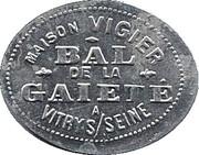 Token - Bon pour une danse - Maison Vigier - Bal de la Gaiété (Vitry S/ Seine) – obverse