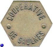 Token - Baguette (Cooperative de Saulnes) – obverse