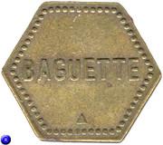 Token - Baguette (Cooperative de Saulnes) – reverse