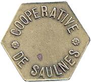 Token - Flute (Cooperative De Saulnes) – obverse