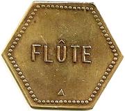 Token - Flute (Cooperative De Saulnes) – reverse
