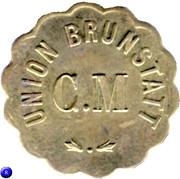 Token - C.M. Union Brunstatt – reverse